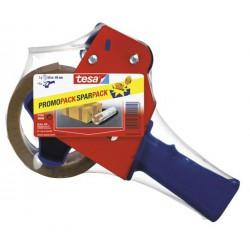 Ruční odvíječ balicí pásky Tesa 57395, včetně lepící pásky