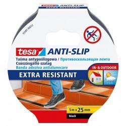 Tesa 55587, protiskluzová páska Anti-slip 25mm x 5m, černá