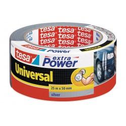 Tesa extra Power 56388, Textilní univerzální opravná páska 50 mm x 25 m černá