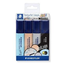 Staedtler zvýrazňovač Textsurfer Pastel 364 sada 6 ks, klínový hrot 1-5 mm