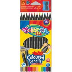 Colorino pastelky trojhranné JUMBO, 12 barev