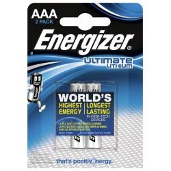 ENERGIZER Ultimate Lithium, Baterie tužkové AA LR6, blistr 2ks