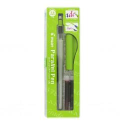 Pilot Parallel Pen, kaligrafické pero hrot 2.4 mm, oranžový uzávěr