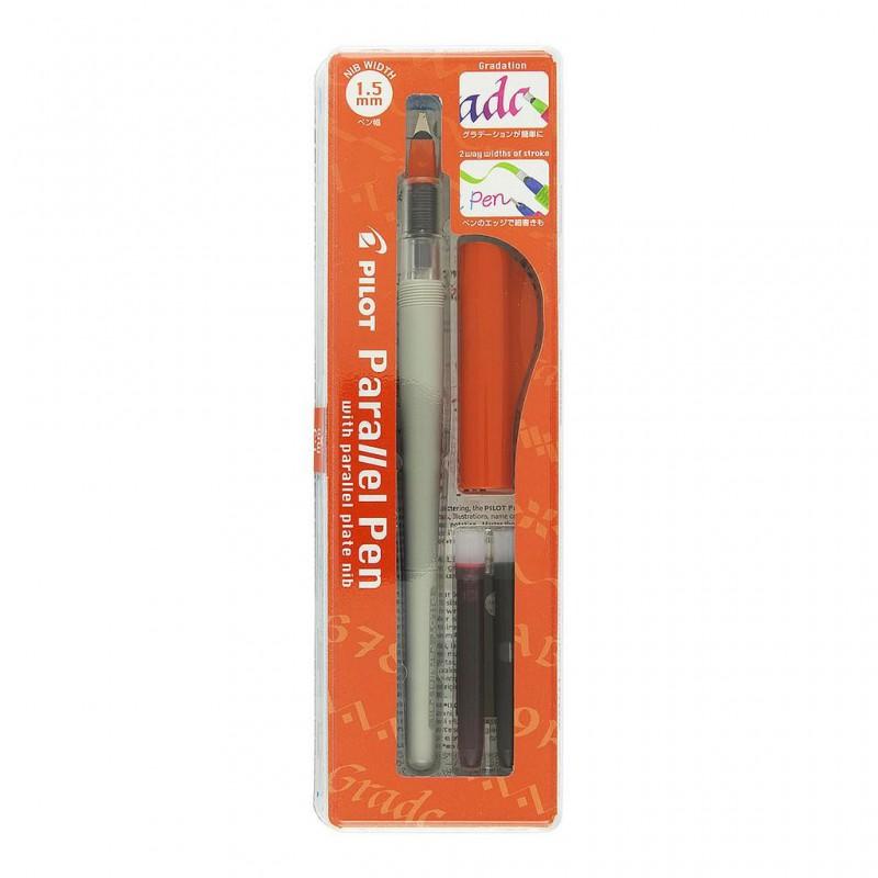 Pilot Parallel Pen, kaligrafické pero hrot 3.8 mm, zelený uzávěr