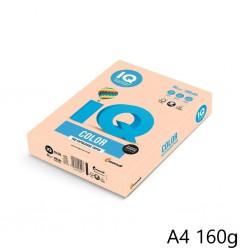 IQ Color barevný papír A4/80g pastelová lososová SA24, 500 ks