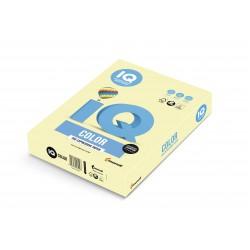 IQ Color barevný papír A4/80g pastelová světle žlutá YE23, 500 ks