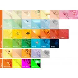 IQ Color barevný papír A4/160g pastelová světle žlutá YE23, 250 ks