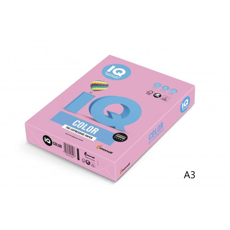 IQ Color barevný papír A3/80g pastelová plameňák OPI74, 500 ks
