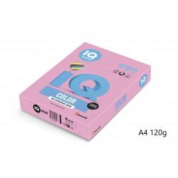 IQ Color barevný papír A4/120g pastelová světle žlutá YE23, 250 ks