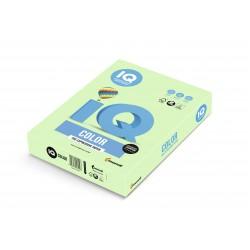 IQ Color barevný papír A4/80g pastelová světle zelená GN27, 500 ks