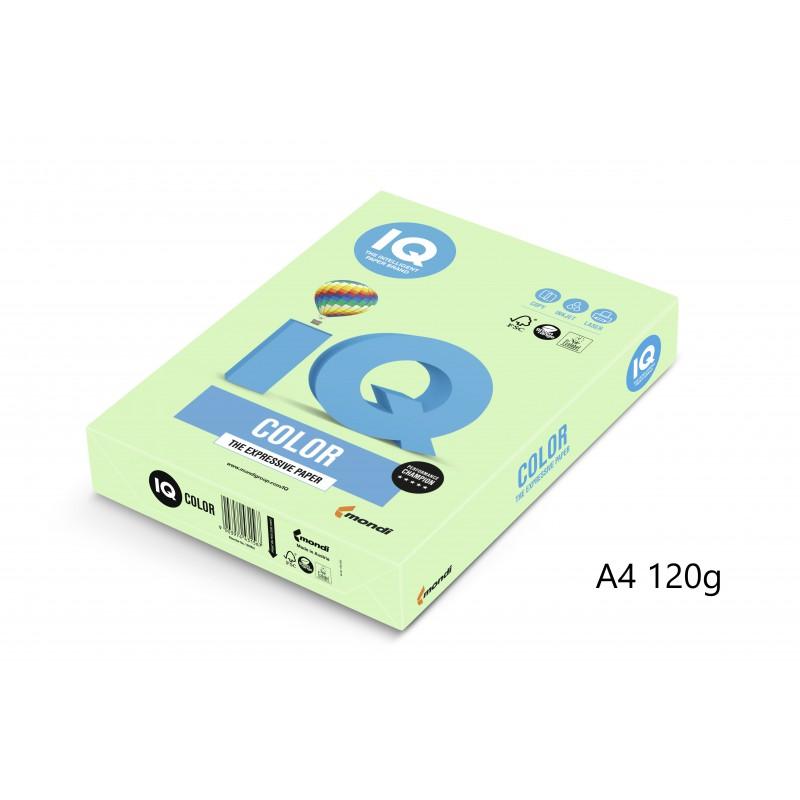 IQ Color barevný papír A4/120g pastelová růžová PI25, 250 ks