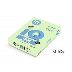 IQ Color barevný papír A3/160g pastelová růžová PI25, 250 ks