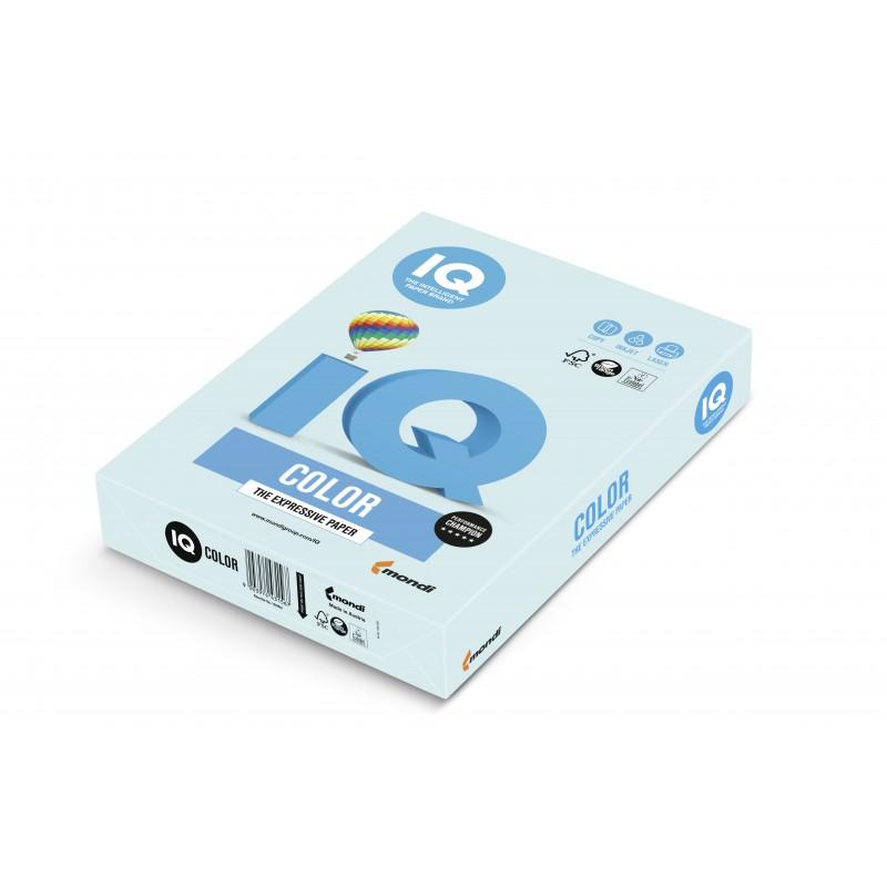 IQ Color barevný papír A4/80g pastelová ledově modrá OBL70, 500 ks