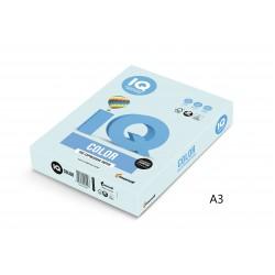 IQ Color barevný papír A3/80g pastelová ledově modrá OBL70, 500 ks