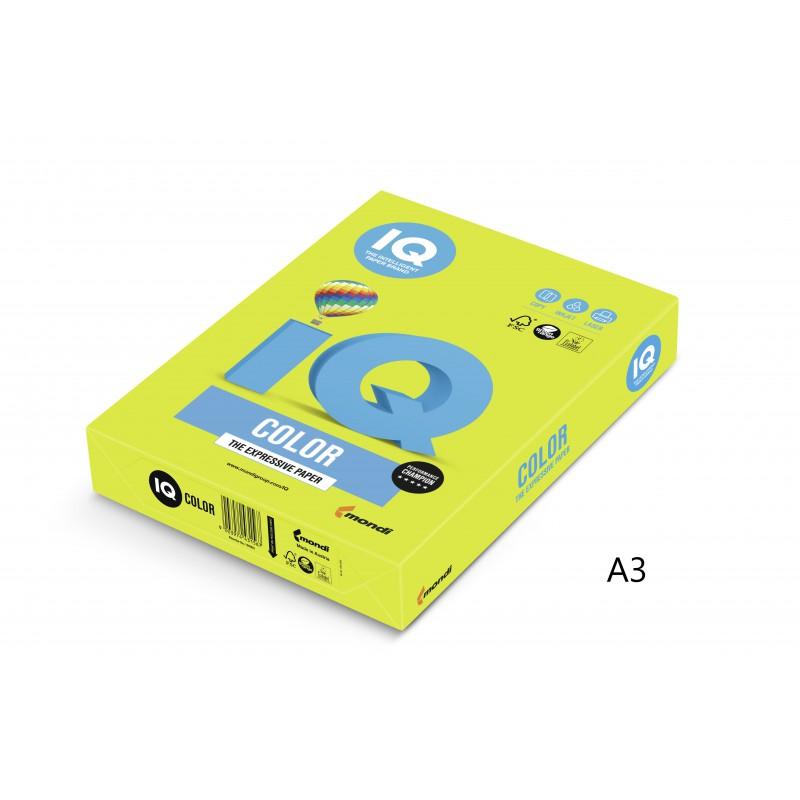 IQ Color barevný papír A3/80g neonově oranžová NEOOR, 500 ks