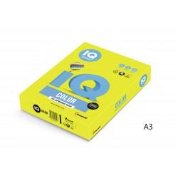 IQ Color barevný papír A3/80g neonově zelená NEOGN, 500 ks