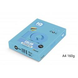 IQ Color barevný papír A4/160g intenzivní kanárkově žlutá CY39, 250 ks
