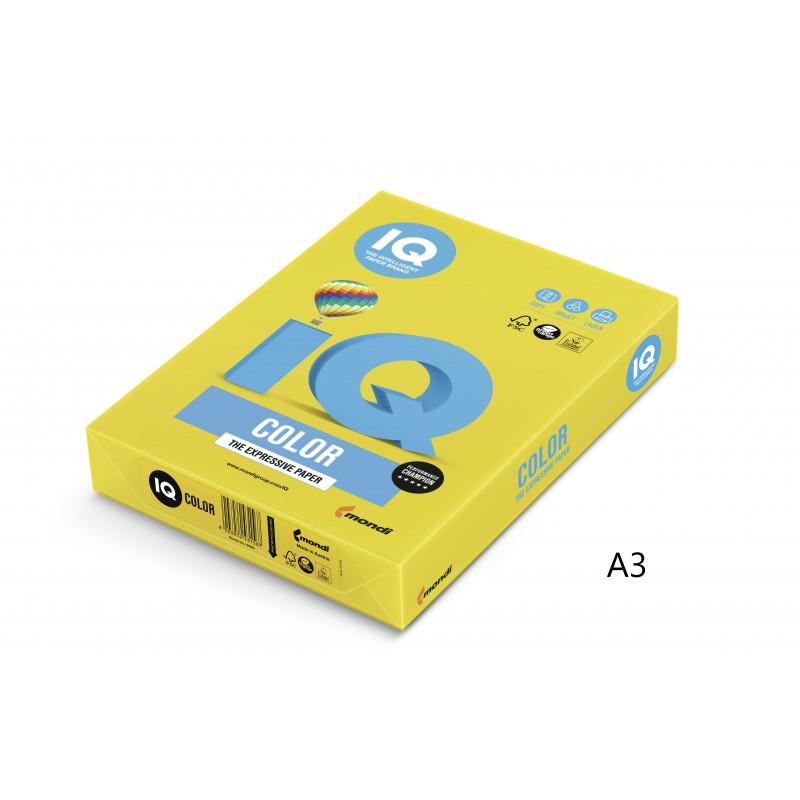 IQ Color barevný papír A3/80g intenzivní azurová AB48, 500 ks