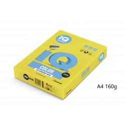 IQ Color barevný papír A4/160g intenzivní azurová AB48, 250 ks