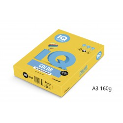 IQ Color barevný papír A3/160g pastelová středně modrá MB30, 250 ks
