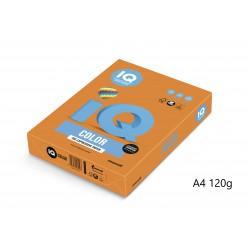 IQ Color barevný papír A4/120g intenzivní zlatožlutá SY40, 250 ks