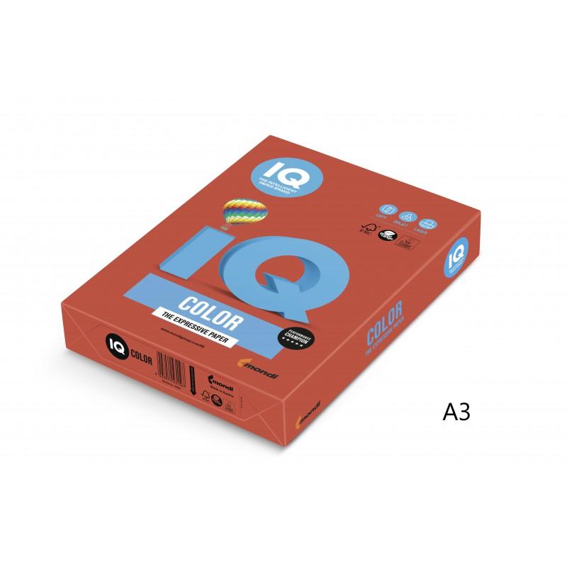 IQ Color barevný papír A3/80g intenzivní oranžová OR43, 500 ks