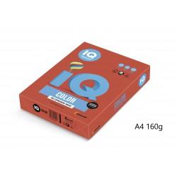 IQ Color barevný papír A4/160g intenzivní oranžová OR43, 250 ks