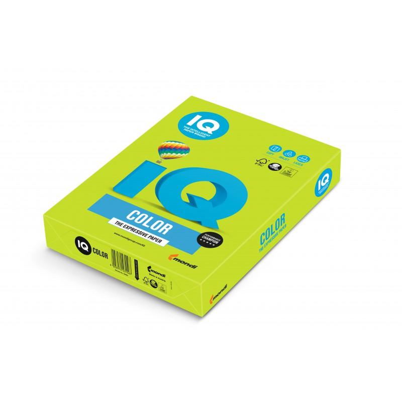 IQ Color barevný papír A4/80g intenzivní červená CO44, 500 ks
