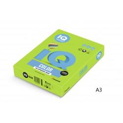 IQ Color barevný papír A3/80g intenzivní olivově zelená LG46, 500 ks