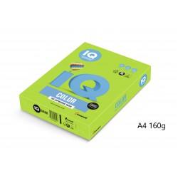 IQ Color barevný papír A4/160g intenzivní olivově zelená LG46, 250 ks