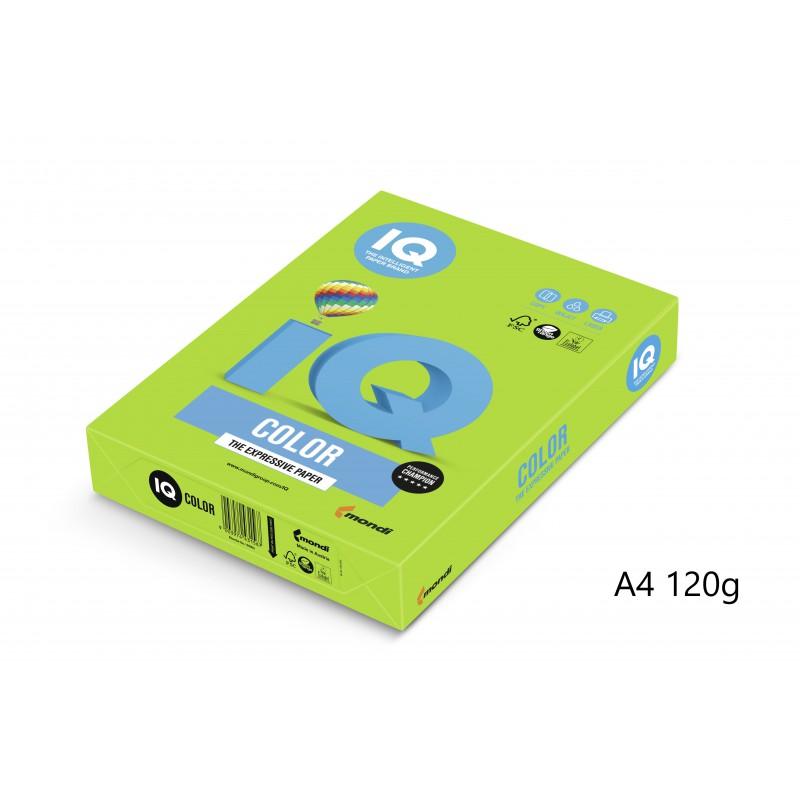 IQ Color barevný papír A4/120g intenzivní červená CO44, 250 ks
