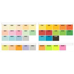 IQ Color barevný papír A4/80g mix trendových barev, 5x50 ks