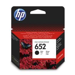 Inkoustová cartridge HP 652 černá, F6V25AE