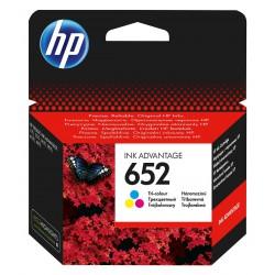 Inkoustová cartridge HP 652 tříbarevná, F6V24AE