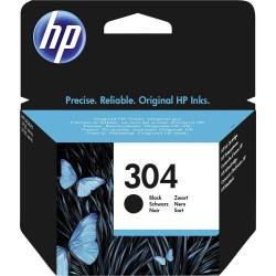 Inkoustová cartridge HP 304 černá, N9K06AE