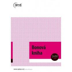 OPTYS 1264, Bonová kniha A4