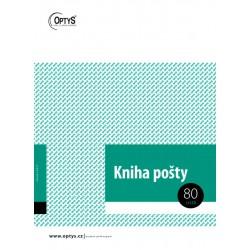 OPTYS 1270, Kniha pošty A4 brožovaná