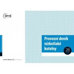 OPTYS 1240, Provozní deník kotelny A4