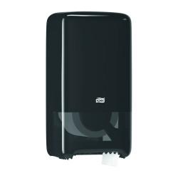 Tork 557508, Twin černý zásobník na toaletní papír - kompaktní role, systém T6