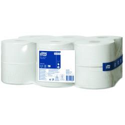 Tork Mini Jumbo 120161, toaletní papír jednovrstvý šedý, T2, balení 12 rolí