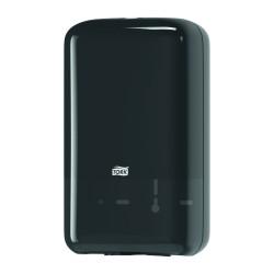 Tork Folded 556008, zásobník na toaletní papír skládaný černý, systém T3
