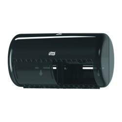Tork 557008, zásobník na toaletní papír černý - konvenční role, systém T4