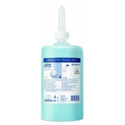 Tork Premium 420601, tekuté mýdlo na vlasy a tělo modré, 1 litr - 1000 dávek, S1