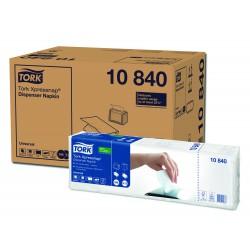 Tork Xpressnap 10840, bílý ubrousek N4, karton 8x1125 ks