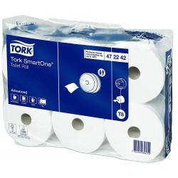 Tork 472242, SmartOne toaletní papír Advanced dvouvrstvý, T8, karton 6 rolí
