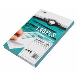 Samolepící etikety bílé A4 SMARTLINE, 100 listů