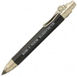 KOH-I-NOOR mechanická tužka Versatil 5311 lakovaná černá, stříbrné doplňky, pro tuhy 5,6 mm