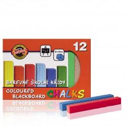 KOH-I-NOOR 112506, barevná křída školní, 12ks v krabičce