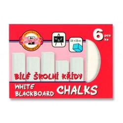 KOH-I-NOOR 111504, křída školní bílá, 6ks v krabičce