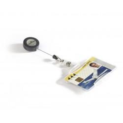 Durable 8011, Pouzdro na magnetické karty 54x85 mm, s rolosystémem